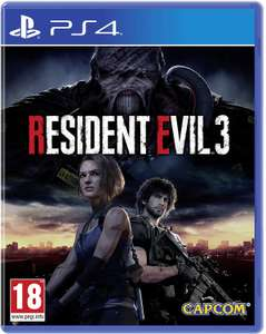 Resident Evil 3 PS4 - Used/Like new Rental to keep £9.99 (£3.99 basic package subscription) @ Boomerangrentals