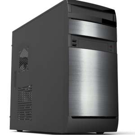 Punch Technology Contender Silver mATX Core i3-10100 8GB 240GB SSD No OS Desktop PC £264.97 @ Laptops Direct