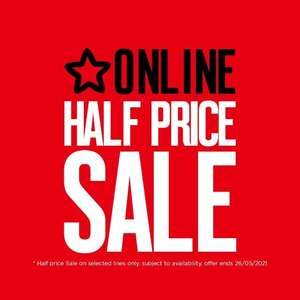 Sale 1/2 Price on Selected Make Up, Gifting, Beauty & £10 & Under Online Only (Free Order & Collect / Free delivery over £10) at Superdrug
