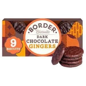 Border Butterscotch Crunch / Dark Chocolate Gingers /Light & Chocolatey Viennese Whirls / Sultana Melts / Lemon Drizzle Melts £1 @ Morrisons