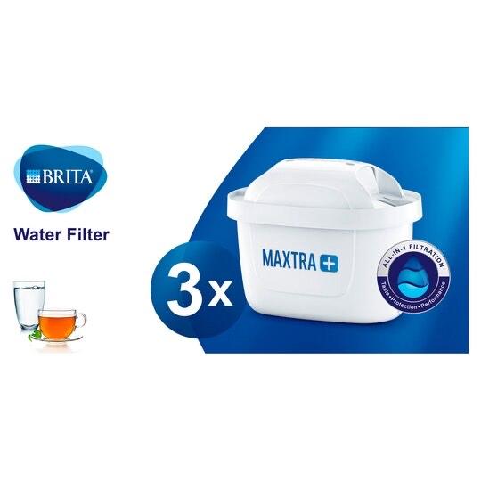 Brita Maxtra Plus Cartridges 3 Pack £10.50 Clubcard Price @ Tesco