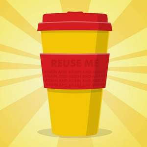 Free reusable cup from Shell - Voucher on the shell go+ app when buying a Costa express hot drink (Account / location specific) @ Shell