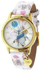 Beatrix Potter Peter Rabbit White Faux Leather Strap Watch £12.49 free click and collect at Argos