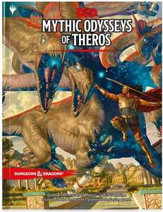 Dungeons and Dragons Mythic Odysseys of Theros - Campaign Source book £18. 80(+£2.99 Non Prime) @ Amazon (£17.48 used Vg)