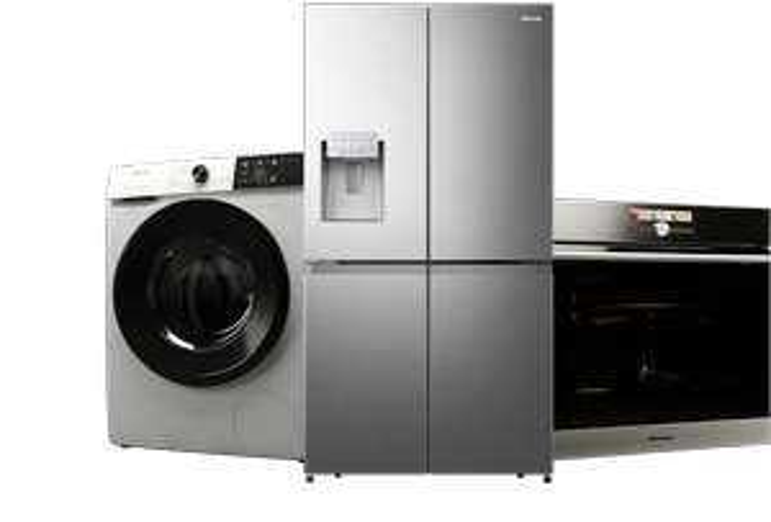 Claim Up To £100 Cashback On Selected Hisense Appliances / Eg Hisense RQ563N4AI1 American Fridge Freezer £574 after cashback with code @ AO