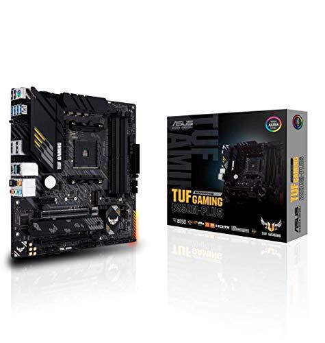 ASUS TUF Gaming B550M-PLUS, mATX Motherboard Dual M.2 10 DrMOS 2.5 Gb Ethernet USB 3.2 Gen 2 Type-A / C £113.62 (UK) Amazon EU @ Amazon