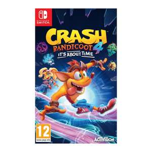 Crash Bandicoot 4 It's About Time - Nintendo Switch (EU physical version) - £38.95 @ The Game Collection