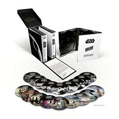 Star Wars: The Skywalker Saga Complete Box Set [18 Discs Blu-ray] £54.99 Delivered @ Amazon
