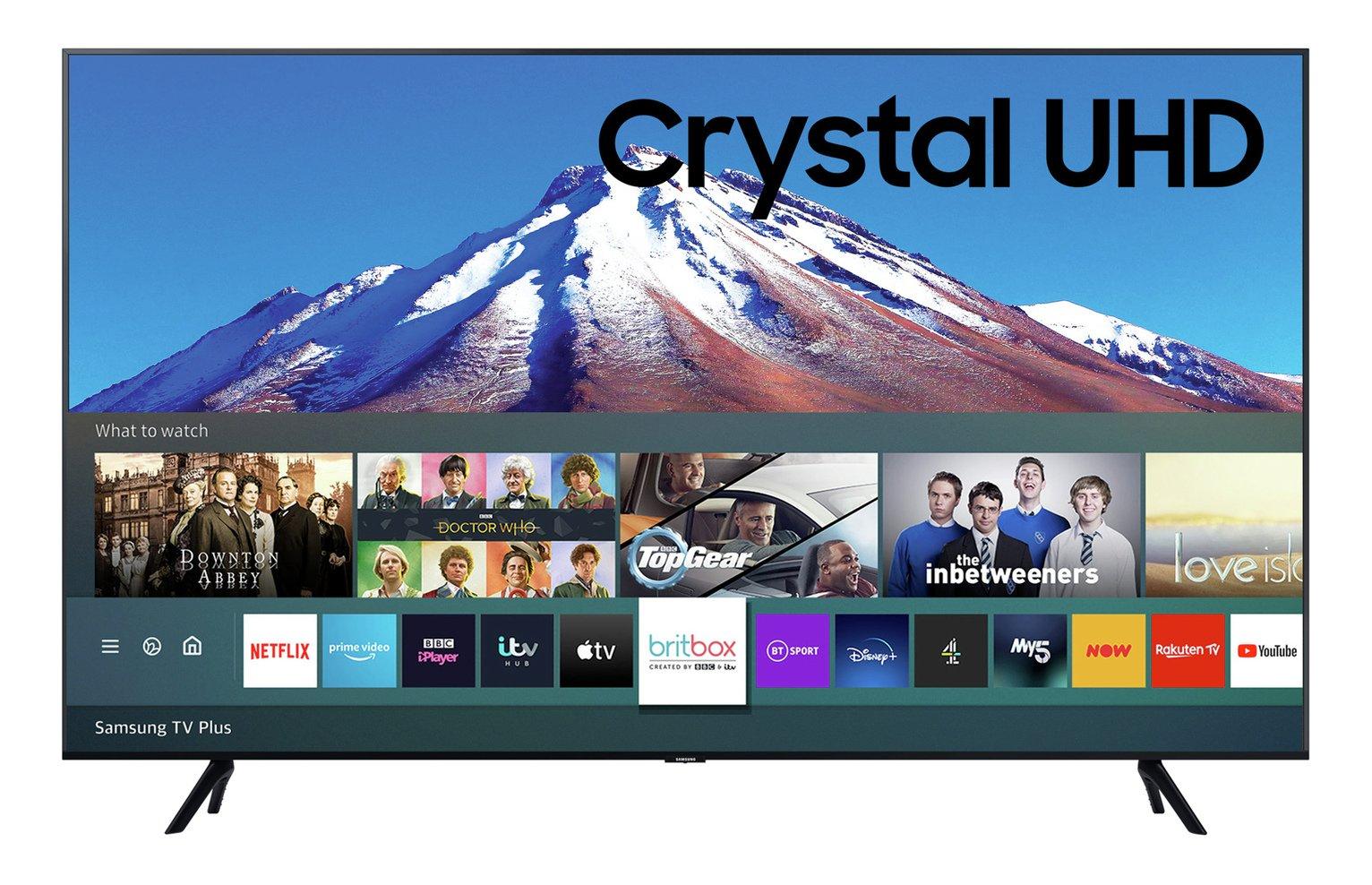 Samsung 50 Inch UE50TU7020 Smart 4K Ultra HD TV With HDR + FREE Samsung HW-Q60T 5.1Ch Bluetooth Sound Bar with Wireless Sub £429 @ Argos