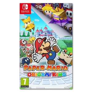 Paper Mario: The Origami King - Nintendo Switch - £23.99 Delivered Using Code @ GameByte