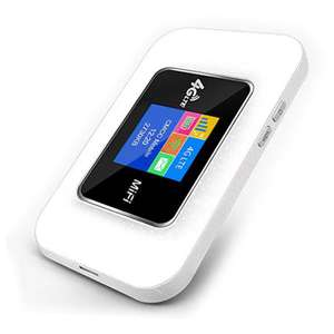 Essentials 4G Unlocked Mobile WiFi Router 150Mbps - White £29.99 @ MyMemory