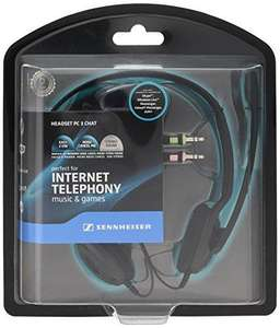 Sennheiser Pc 3 Chat Pc Analogue Headset Range (Over The Head, Binaural Voip Headset) for £11.88 delivered @ Rarewaves