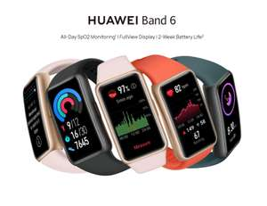 HUAWEI Band 6 Fitness Tracker Smartwatch - £49.99 With Code @ Currys PC World