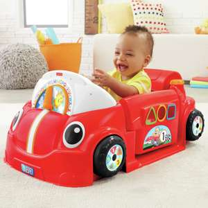 Fisher-Price Laugh & Learn Smart Stage Crawl Around Car with 75+ songs, sounds, tunes - Red - now £52.50 (Click & Collect) @ Argos