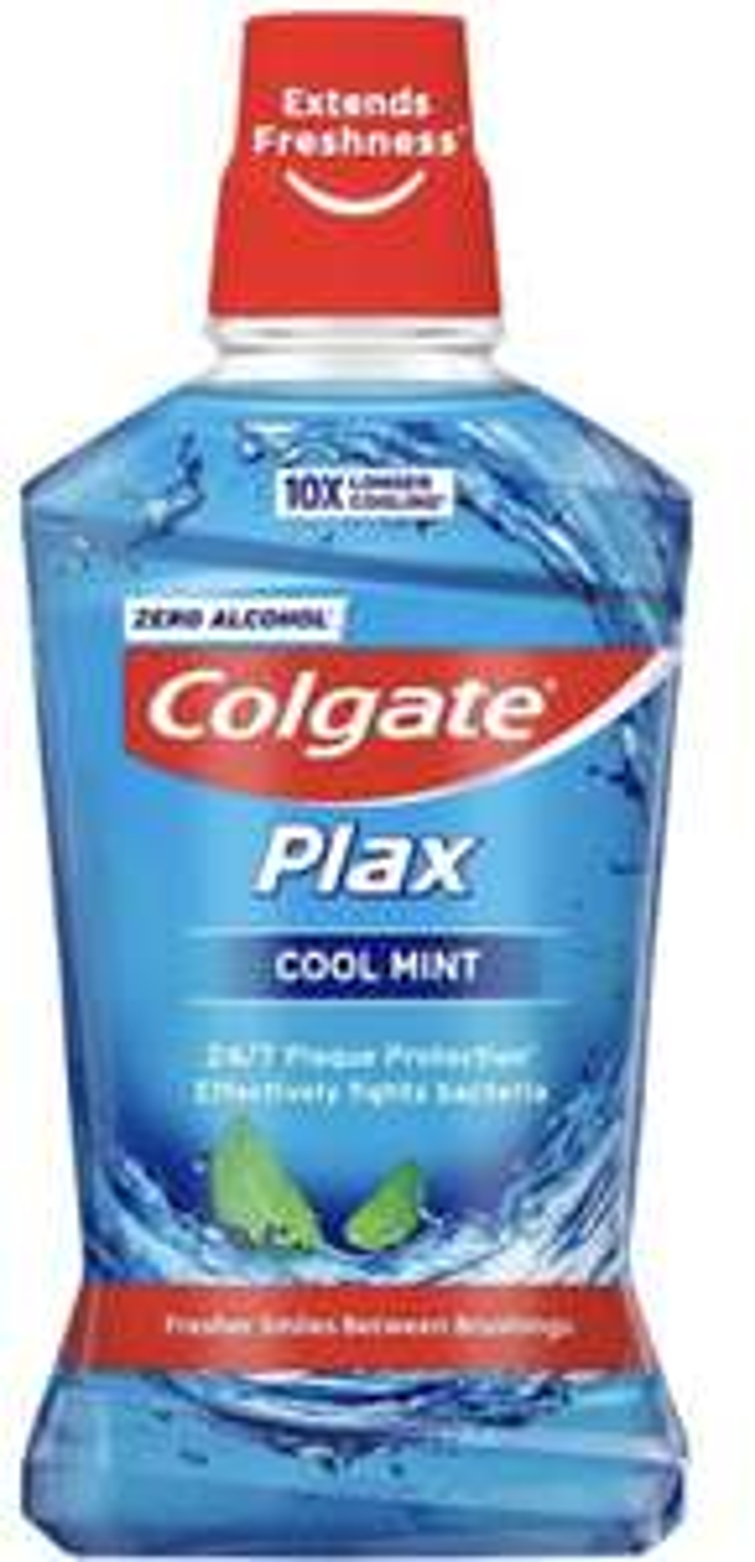 Colgate Plax Cool Mint Mouthwash with CPC 500ml £1.85 (+ £4.49 delivery nonprime) Amazon