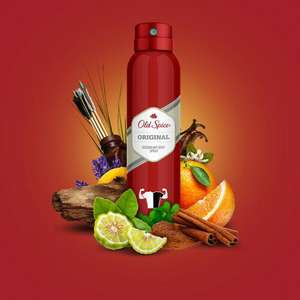 Old Spice Original Body Spray 150ml - £2.00 @ Morrisons
