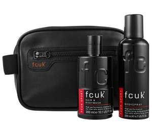 50% off FCUK Body wash / spray From £2, Gift sets from £7 + £1.50 Click and collect free on orders over £15. from Boots