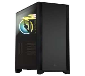 Corsair 4000D Tempered Glass Mid-Tower ATX PC Case - Black/White £59.99 delivered at Currys PC world