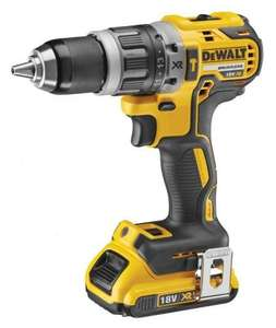 DeWALT DCD796D1 18v Brushless Combi Drill with T-Stak Case, Charger, and 2ah battery - £129.72 Delivered @ powertoolsuk