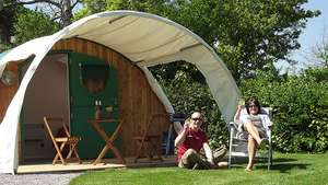 Two Night Glamping Experience £76 with code @ Red Letter Days (E-voucher)