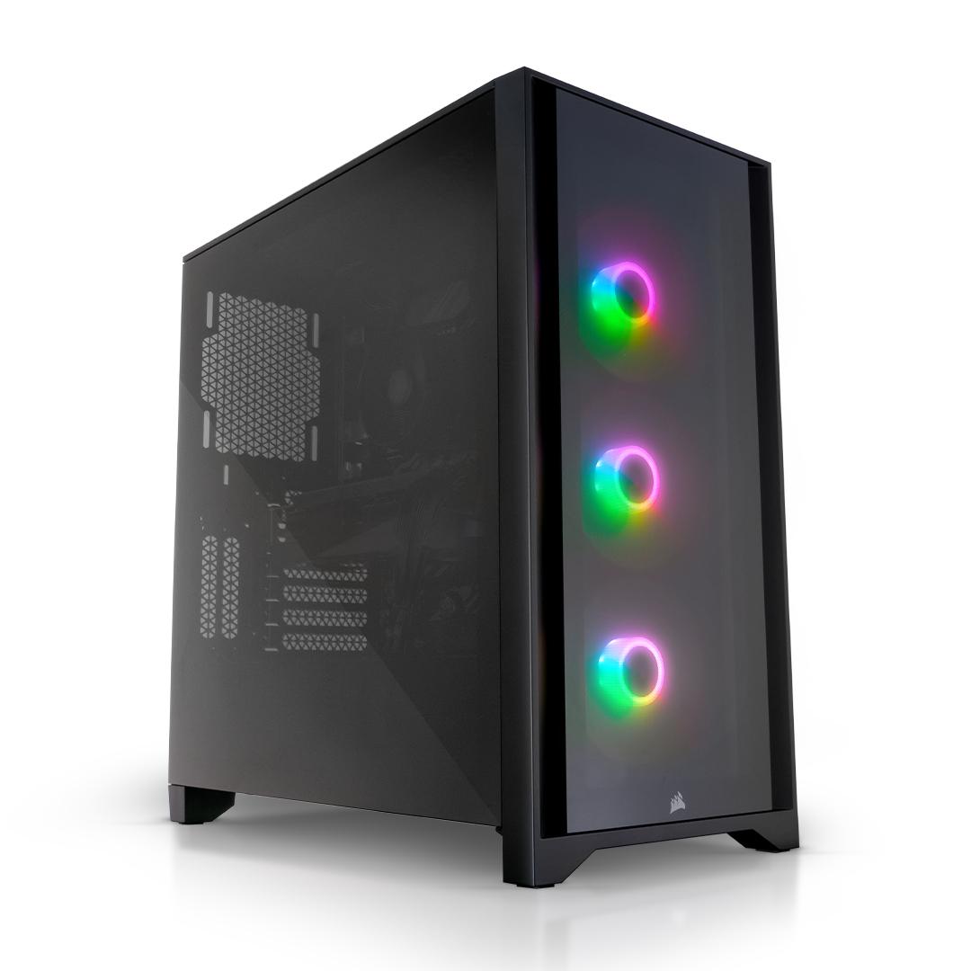AWD iCUE 4000X RGB Ryzen 5 5600X 6 Core 4.6GHz NVIDIA RTX 3060 12GB Desktop PC for Gaming £995.95 via AWD-IT