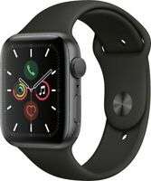 APPLE Watch Series 6 - Space Grey with Black Sports Band, 44 mm - BOX DAMAGE - £320.10 @ currys_clearance / ebay