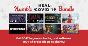 [Steam] Humble Heal Covid-19 Bundle - Baba is You, Into the Breach, Euro Truck Simulator 2 (and more) Pay at least £14.43 @ Humble Bundle