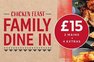 Chicken Family Feast Dine in £15 instore @ M&S limited time