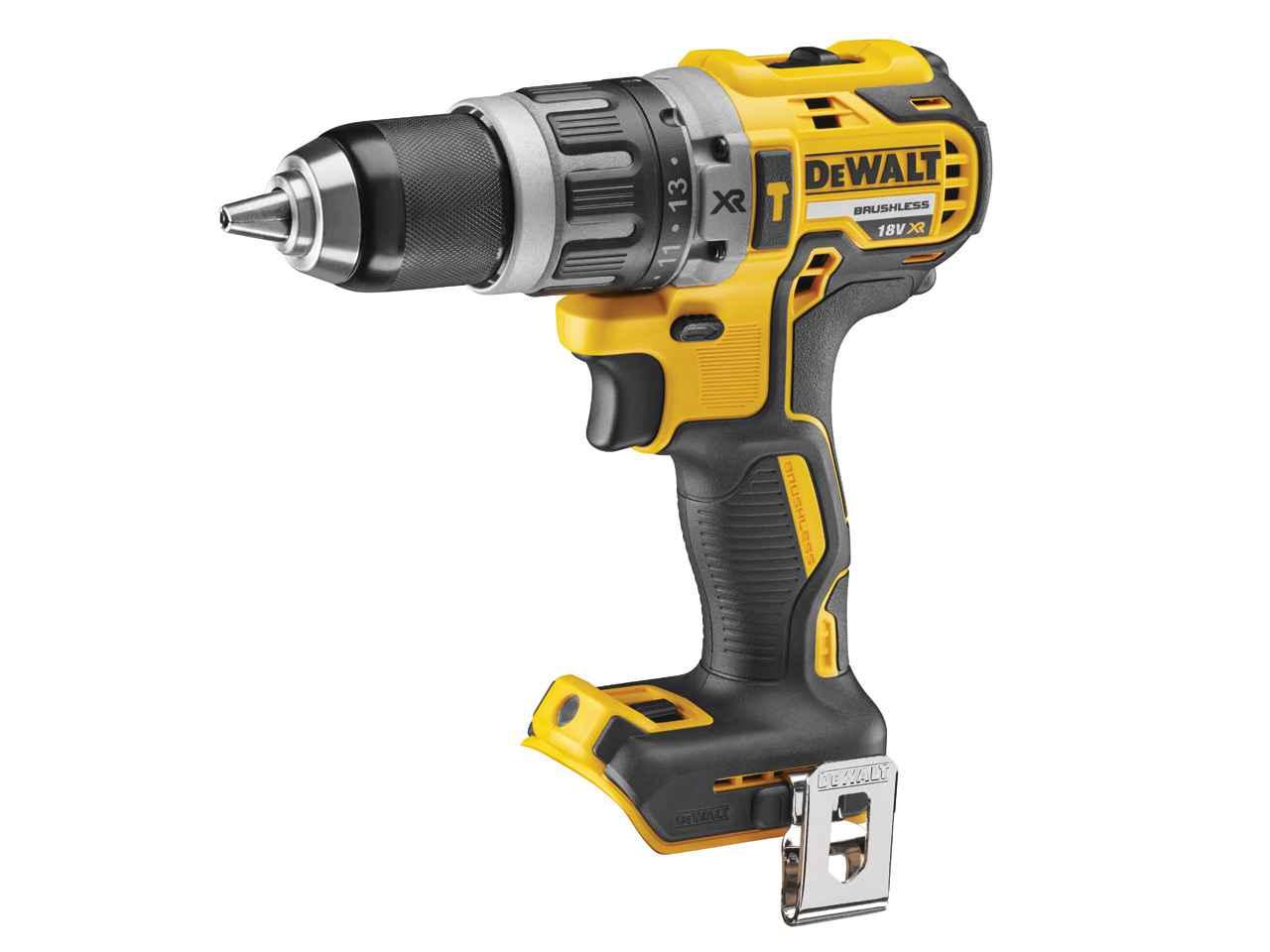 Dewalt DCD796N 18v XR Brushless Combi Hammer Drill (Bare Tool) - £62.70 delivered with code @ FFX