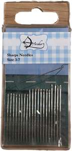 Archer AR1022 Sharps Hand Sewing Needles Size 3-7, Metal, Silver, 10 x 5 x 1 cm 92p (+£4.49 non-prime) @ Amazon