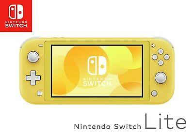 Refurbished Nintendo Switch Lite Compact Handheld Console - Yellow £149.99 @ Argos / eBay