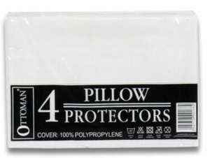 4 Pillow Protectors £1.99 delivered @ mytextilemill / ebay