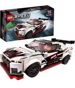 LEGO Speed Champions 76896 Nissan GT-R NISMO Racer Toy, with Racing Driver Minifigure £12.99 Prime / +£4.49 non Prime at Amazon