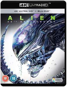 Alien 4K Ultra HD Blu-ray £10 with code online & In Store - Free Click & Collect @ HMV