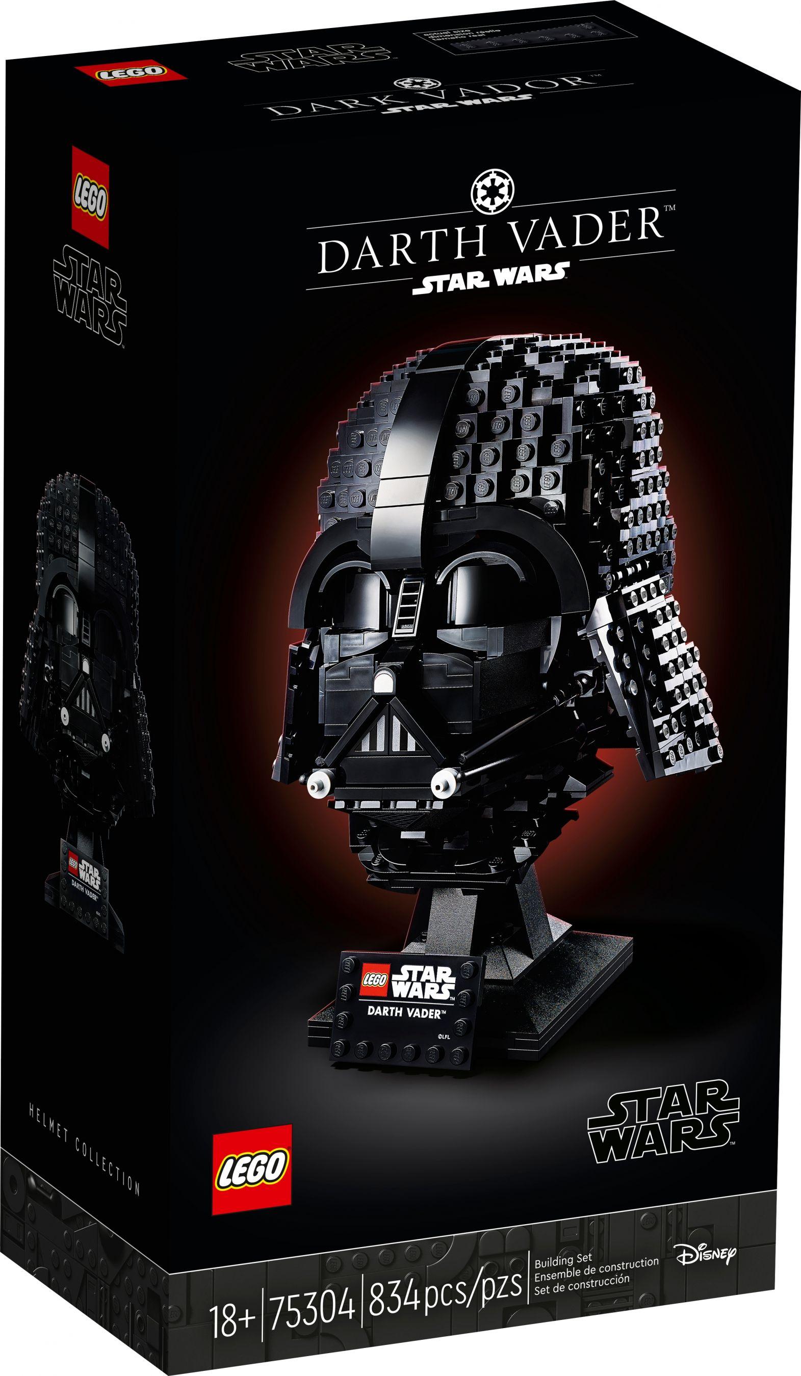 £10 off Lego Helmets with code (including LEGO Star Wars 75304 Darth Vader Helmet - £50 with code) @ Hamleys