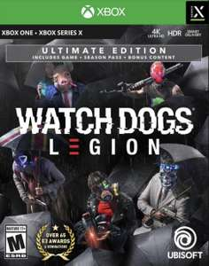 Watch Dogs Legion Ultimate Edition - £29.99 + £4.99 delivery (Xbox Series X • Xbox One) (with extra £5 Game reward points) at GAME