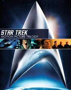 Star Trek: Motion Picture Trilogy DVD (preowned) £3.59 delivered with code @ World of Books