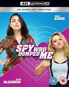 The Spy Who Dumped Me (4K Ultra HD Blu-ray) £5.83 delivered @ DVDbayUK / Amazon