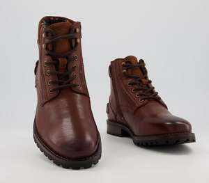 Office Bradford Men's Boots in Tan Grain Leather - £15 from Office Shoes with free click and collect / £3.99 delivery