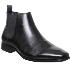Office Boe Men's Chelsea Boot in Black or Brown Leather - £15 with free click and collect from Office (£3.99 delivery)