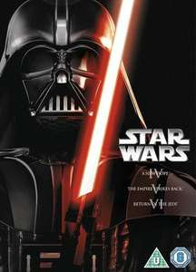 Star Wars Trilogy Episodes IV, V and VI DVD Mark Hamill, Lucas (used) £2.49 delivered @ musicmagpie
