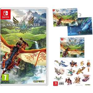 Nintendo Switch Game - Monster Hunter Stories 2 Wings of Ruin (with Poster, Stickers and Cloth) - £44.99 @ 365Games