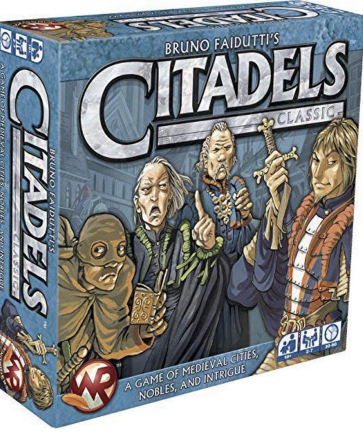 Fantasy Flight Games WR01 Citadels Classic Edition card game - £6.53 (+£4.49 Non Prime) @ Amazon