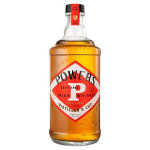 Powers Gold Label Distiller's Cut Irish Whiskey 70cl 43% for £23 at Waitrose (min purchase / delivery fee applies)