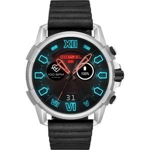 Diesel DZT2008 Men's black Full Guard 2.5 Smartwatch with leather strap for £150 delivered using code @ Watch Pilot