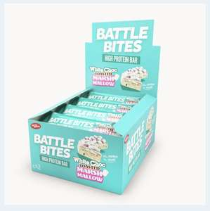 Battle-Bites Protein bars £14.28 + £3.49 delivery / £4.99 NI at Home Bargains