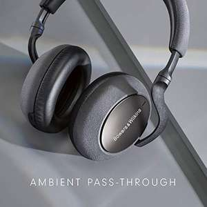 Bowers & Wilkins PX7 Wireless Over Ear Headphones with Active Noise Cancellation - Space Grey £214 @ Amazon
