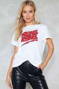 Rebel Rebel Tshirt £2 delivered next day @ Debenhams