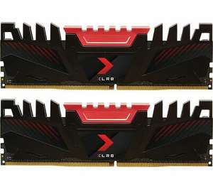 PNY XLR8 DDR4 3200MHz DIMM PC RAM 16GB x 2 Black & Red £118.75 at Currys Ebay Shop