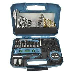 Erbauer 100 piece mixed drill bit set for £18.99 click & collect @ Screwfix